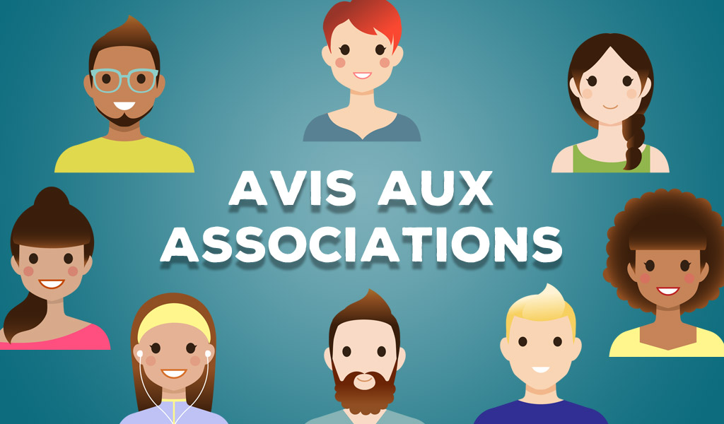 Associations : demande de subvention 2018